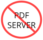 no server