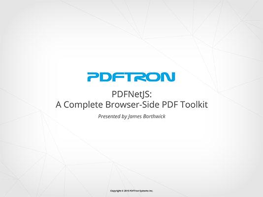 pdfnetjs_presentation